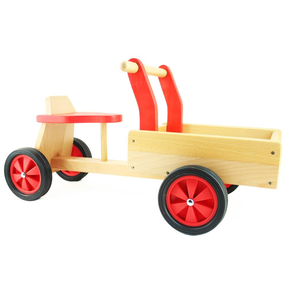 Playwood Bakfiets hout rood