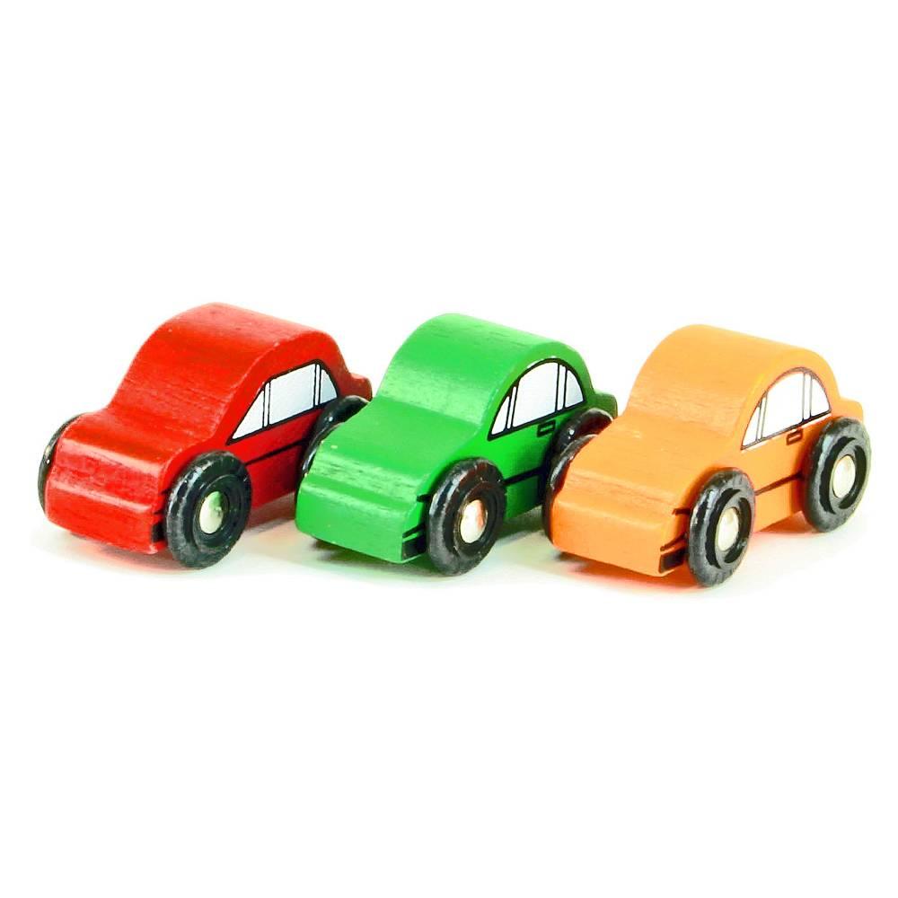 Mentari Auto 6 cm (3 stuks)
