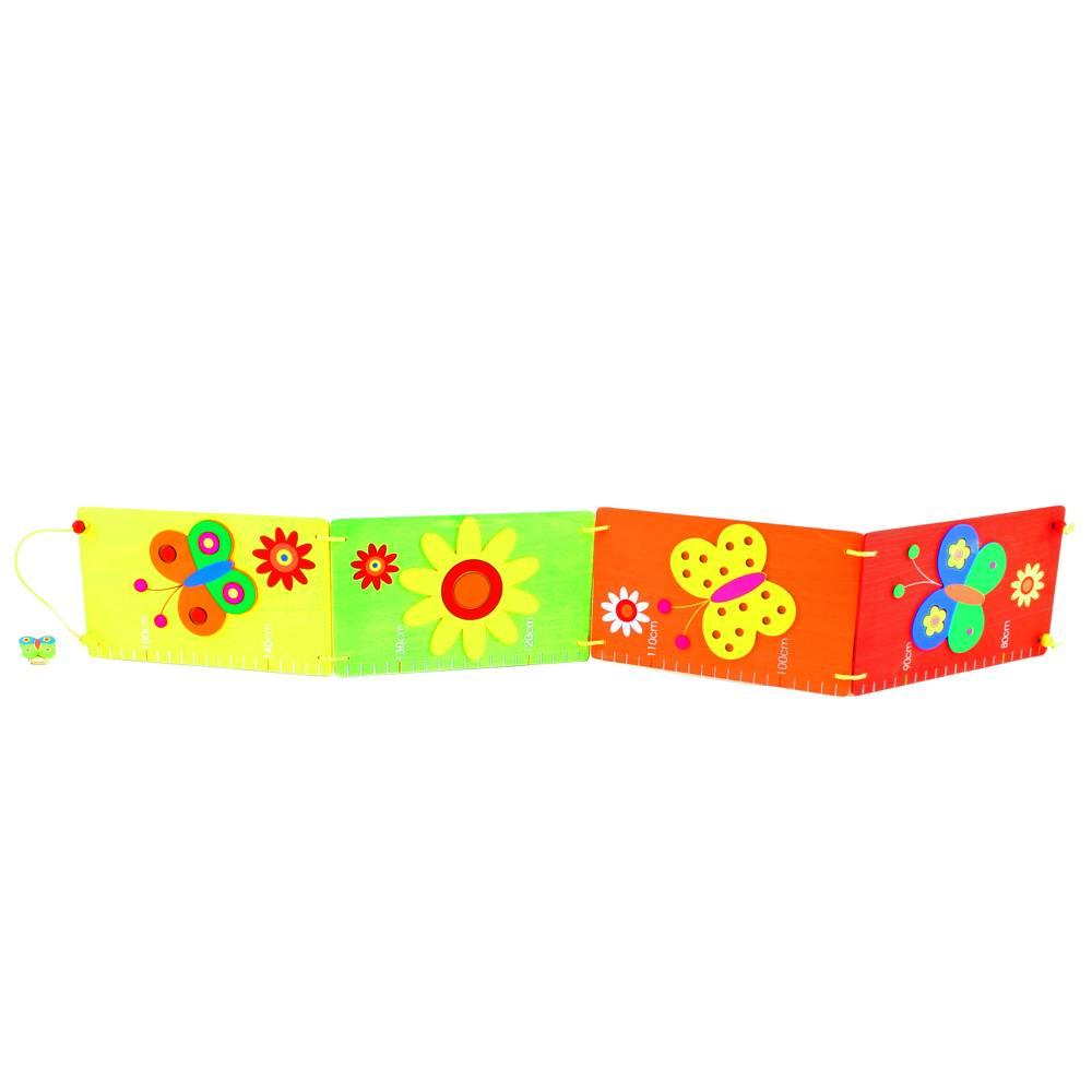 Simply for Kids Inklapbare meetlat vlinder