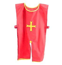 Ridder tuniek rood met geel
