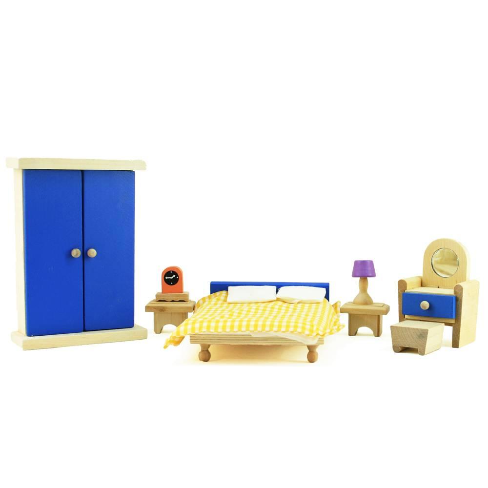 Slaapkamer met bedlinnen