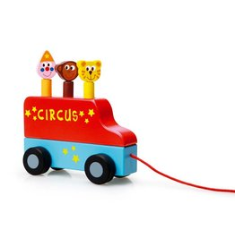 Scratch Trekfiguur circus pop-up