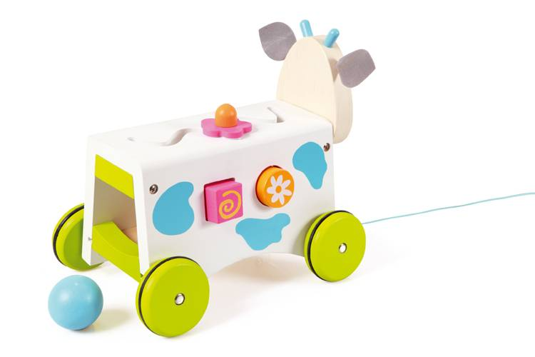 Scratch Trekwagen vormen koe