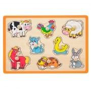 Jouéco Knopjes puzzel boerderij