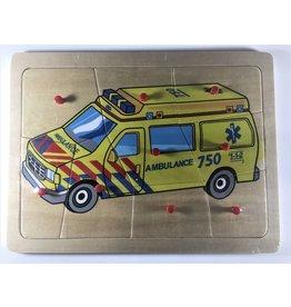 Knopjes puzzel ambulance
