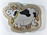 legpuzzel klein koe 4 stukjes