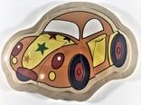 Legpuzzel klein auto 4 stukjes