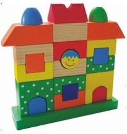 Bouwpuzzel Huis