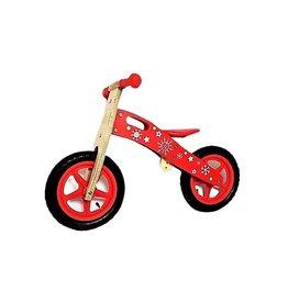 Playwood Rode houten loopfiets