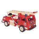 Pintoy Brandweerwagen met 2 brandweermannen
