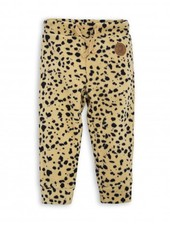 Mini Rodini Spot Fleece Trousers - beige