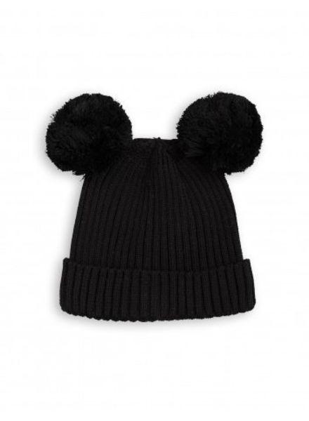 Mini Rodini Ear Hat - Black