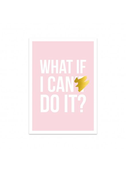 Studio Stationery Card - I can do it