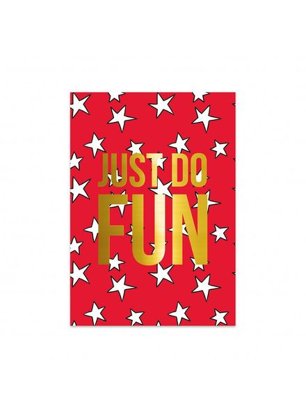 Studio Stationery Card - Stars