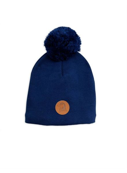 Mini Rodini Penguin hat - navy