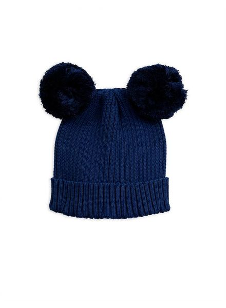 Mini Rodini Ear hat - navy