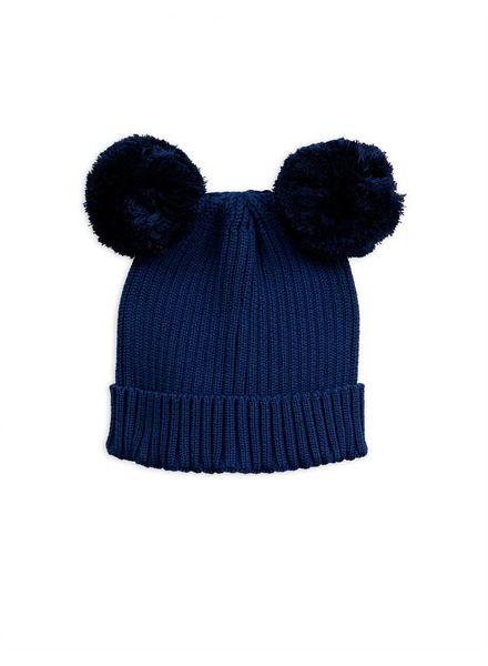 Mini Rodini Ear hat - navy