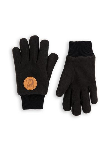 Mini Rodini Fleece Glove - Black