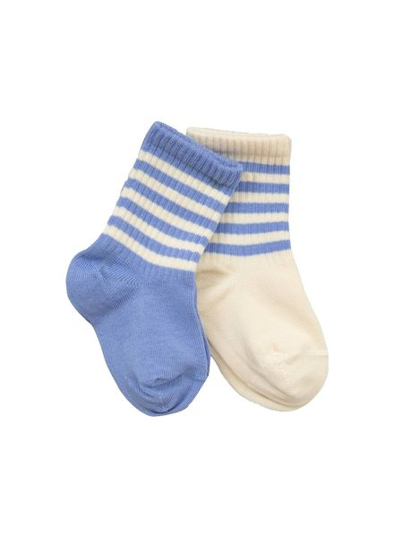 Mini Rodini 2 Pack Socks - blue
