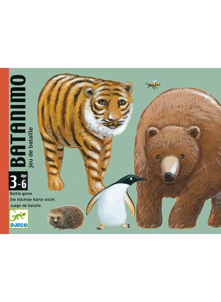 Djeco Card game - Batanimo