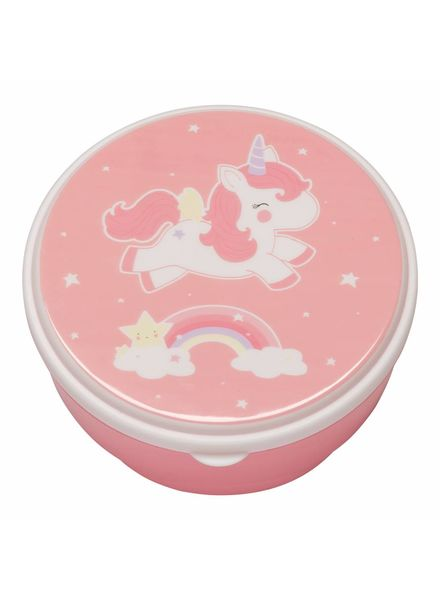 A Little Lovely Company Snack Box Set - Unicorn