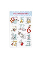 krima&isa Advent Calendar Sticker Snow Animals