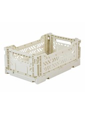Ay-kasa Folding Crate - light grey