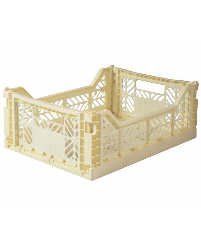 Ay-kasa Folding Crate - banana