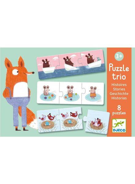 Djeco Puzzle Duo/ Trio - Geschichten