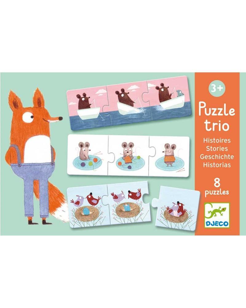 Djeco Puzzle Duo/ Trio - Story