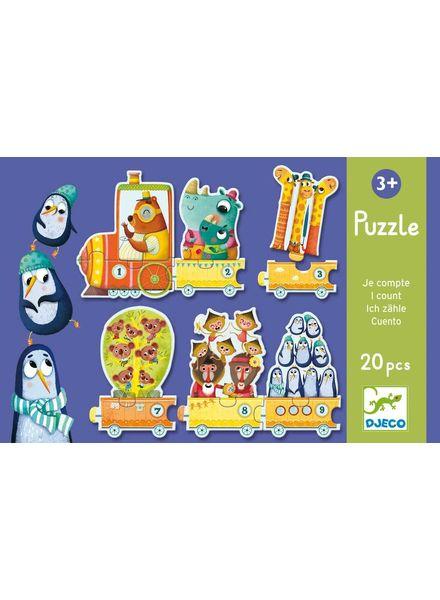 Djeco Puzzle Duo/Trio - Ich zähle