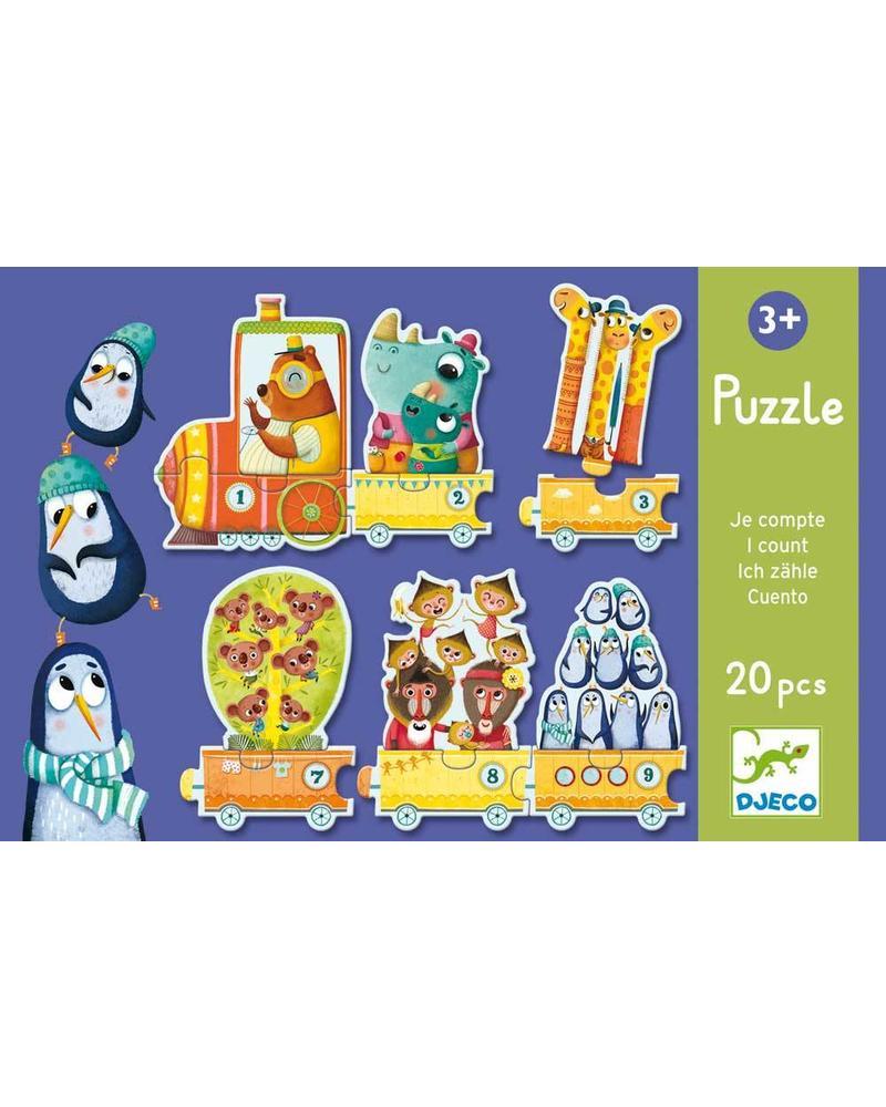 Djeco Puzzle Duo/Trio - I count