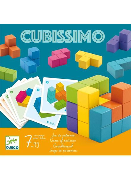 Djeco 3D Puzzle - Cubissimo