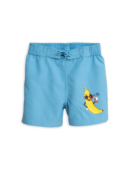 Mini Rodini Banana Swimshorts - light blue