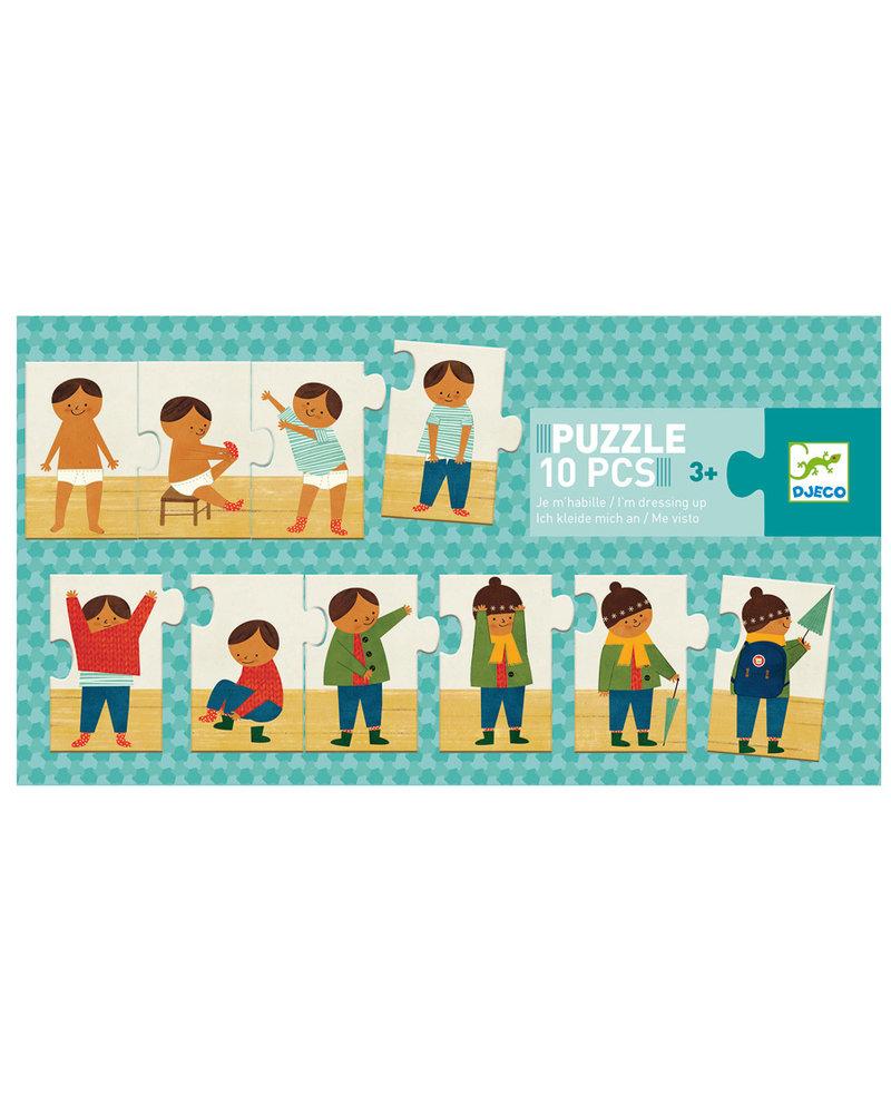 Djeco Puzzle - Ich kleide mich an