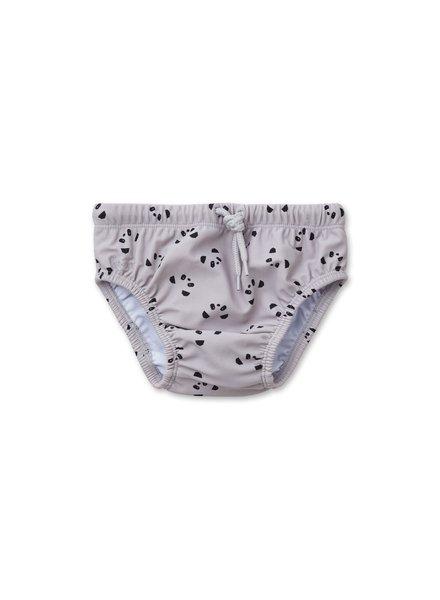 Liewood FREJ baby boy swim pants - Panda dumbo grey