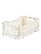 Ay-kasa Folding Crate - Coconut milk