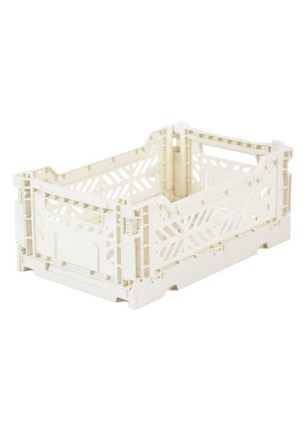 Ay-kasa Folding Crate - Coconut milk
