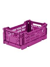 Ay-kasa Folding Crate - Purple