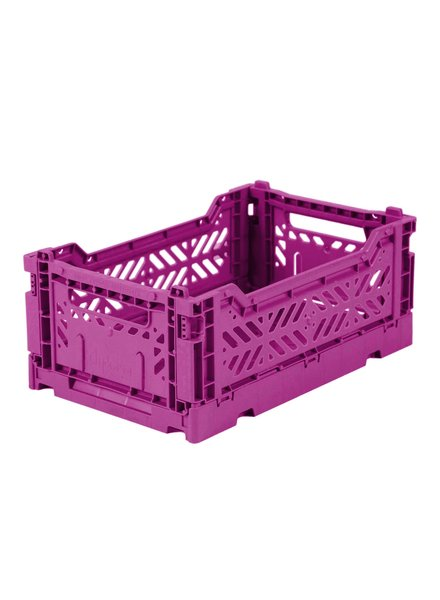 Ay-kasa Folding Crate - Purple