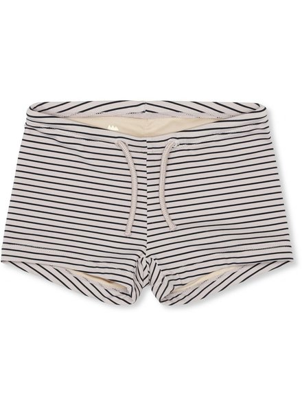Konges Sløjd Soleil Swim Shorts -  Striped navy/nature