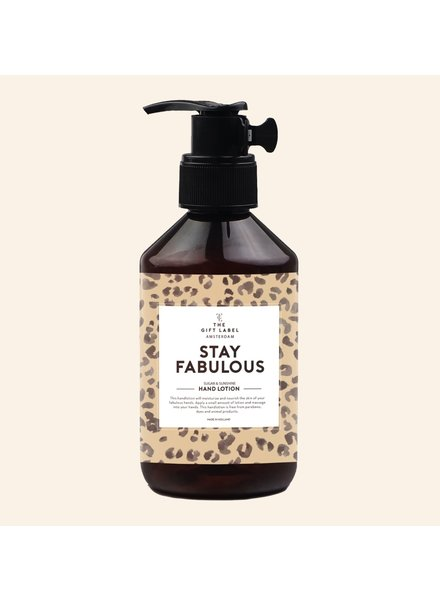 Handlotion - Stay fabulous