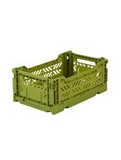 Ay-kasa Folding Crate - Olive