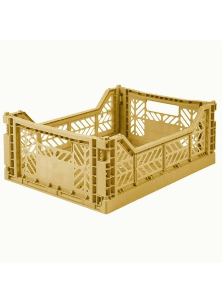 Ay-kasa Folding Crate - Gold