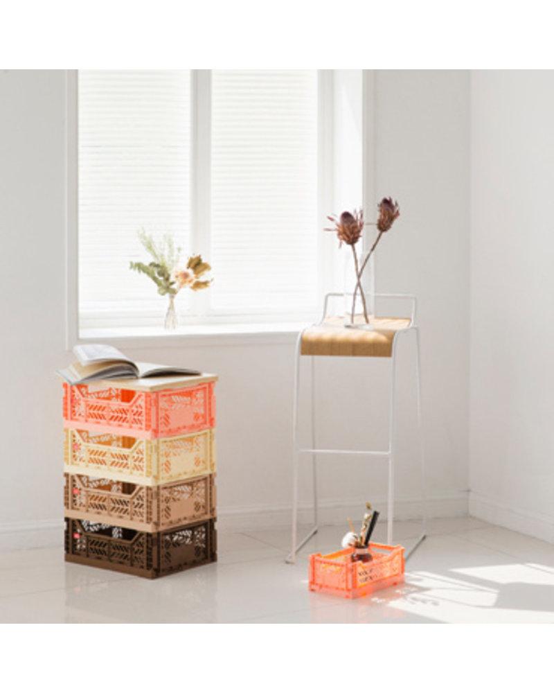Ay-kasa Folding Crate - Gold