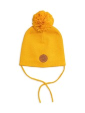 Mini Rodini Penguin hat - Yellow