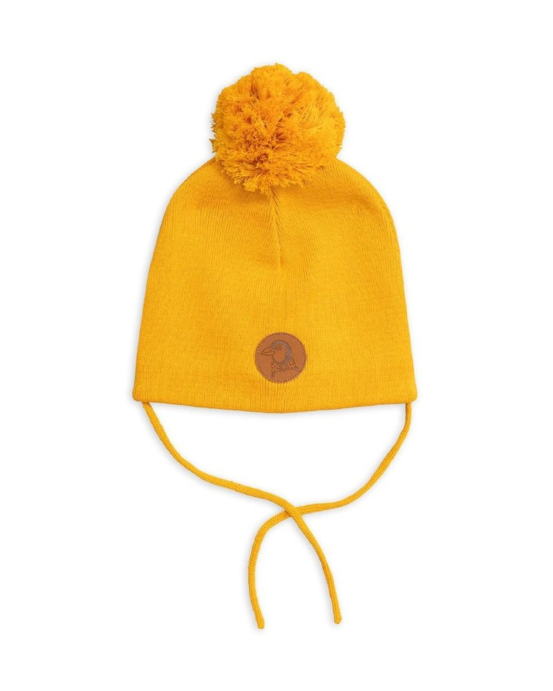 Mini Rodini Penguin hat - Yellow