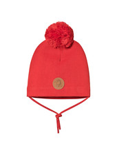 Mini Rodini Penguin hat - Yellow - Red