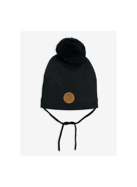 Mini Rodini Penguin hat - Black