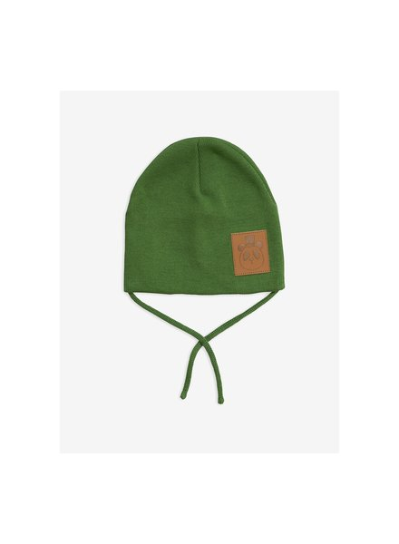 Mini Rodini Panda hat - Green